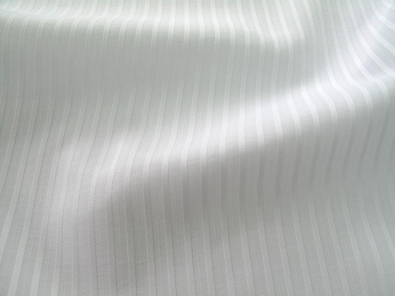 画像1: ポリエステル ドビー ホワイト 広幅