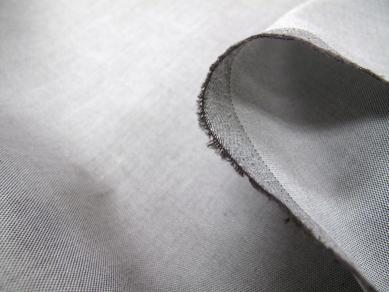 画像1: 播州織 オックスフォード チャ 広幅