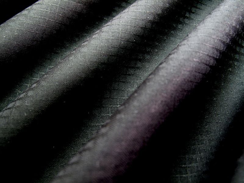 画像1: 播州織 ジャカード ブラック