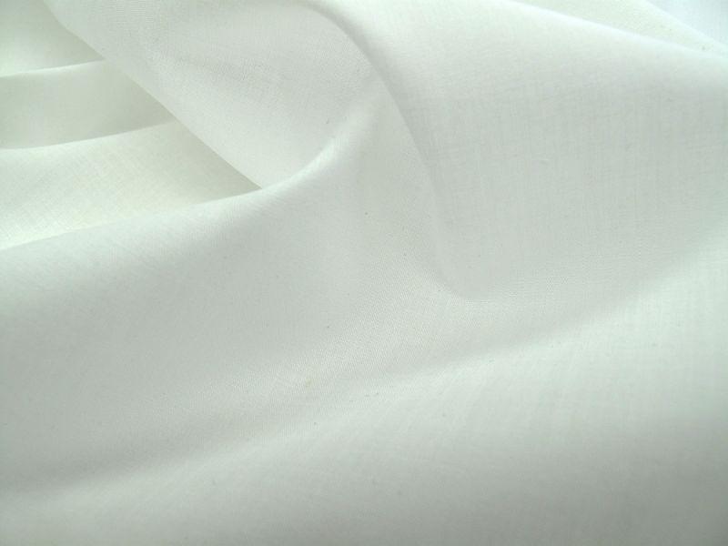 画像1: 播州織 ポプリン ホワイト