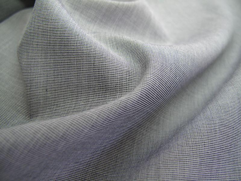 画像1: 播州織 ブロード ポプリン グレー