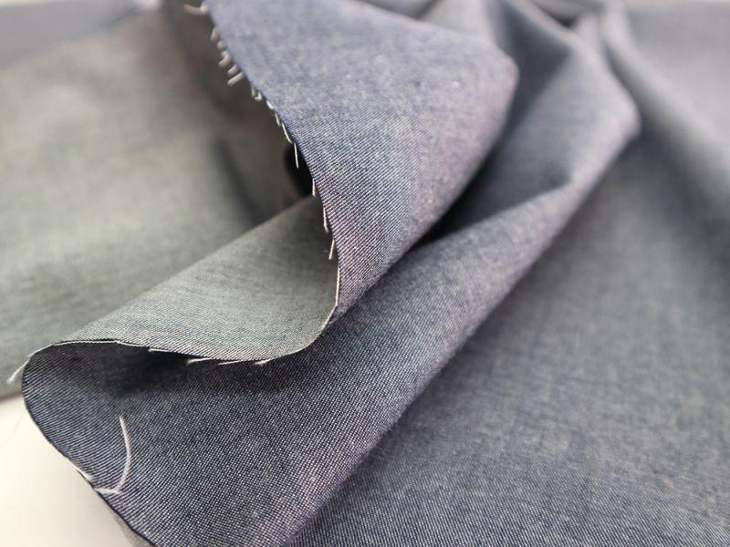 画像1: 播州織 和紙混 グレー ツイル