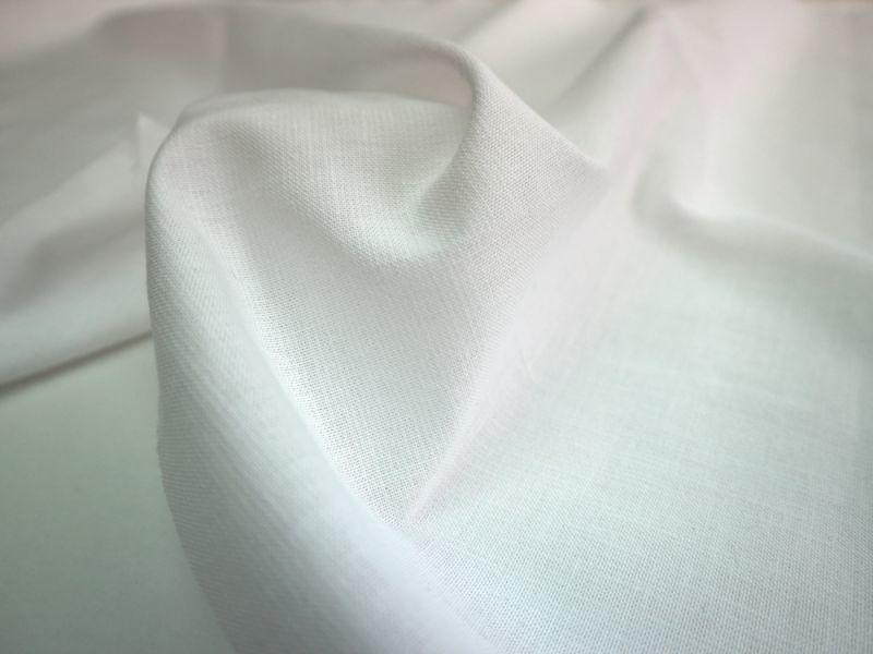 画像1: 播州織 和紙混 ホワイト オックスフォード